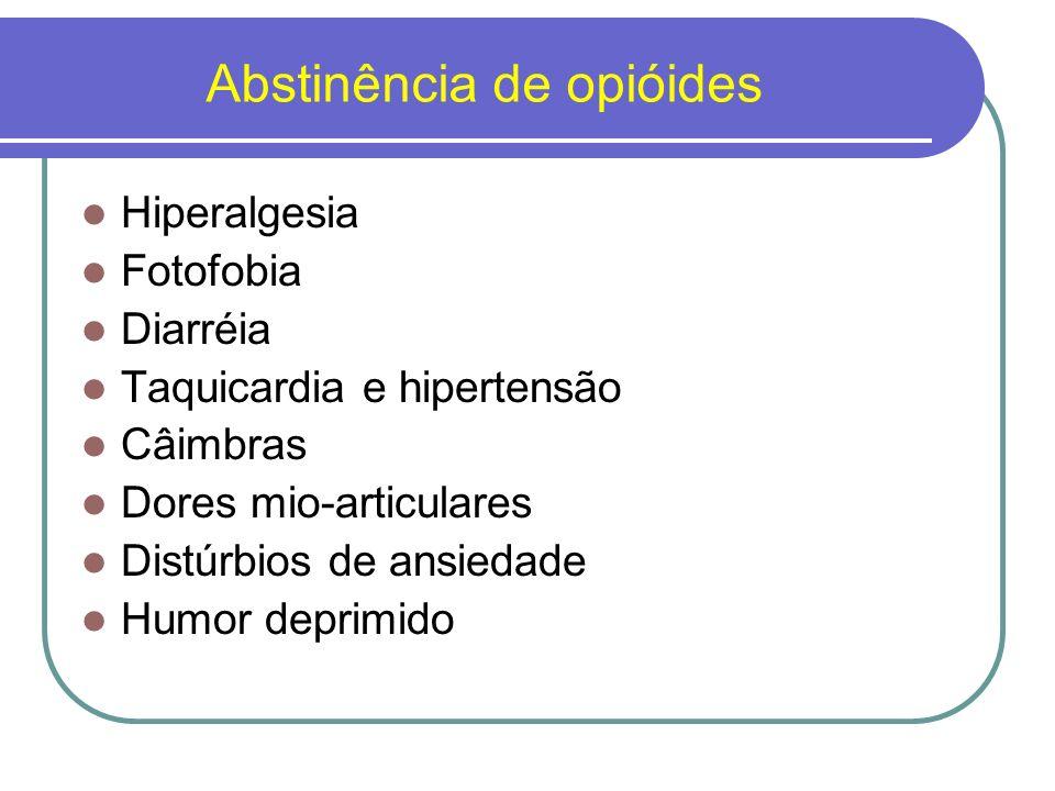Abstinência de opióides
