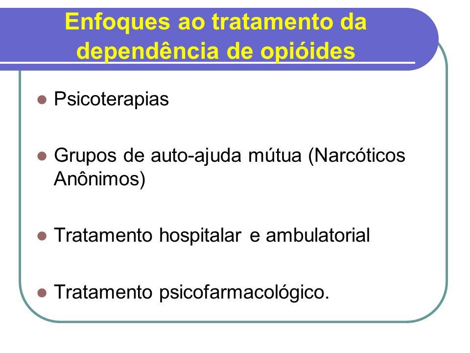Enfoques ao tratamento da dependência de opióides