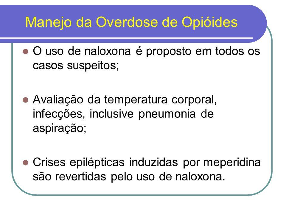 Manejo da Overdose de Opióides