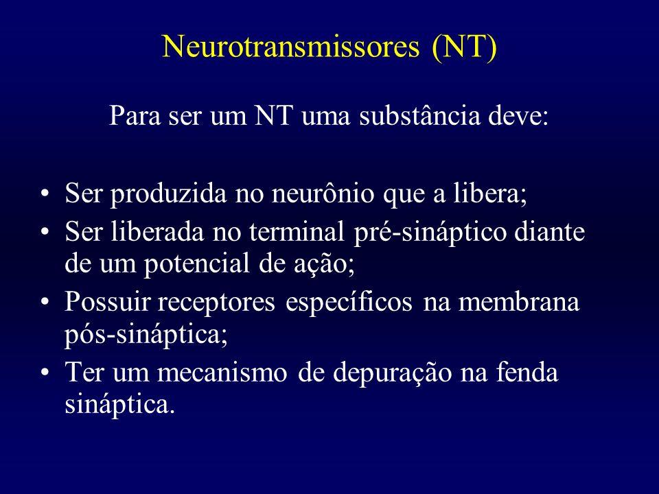 Neurotransmissores (NT)