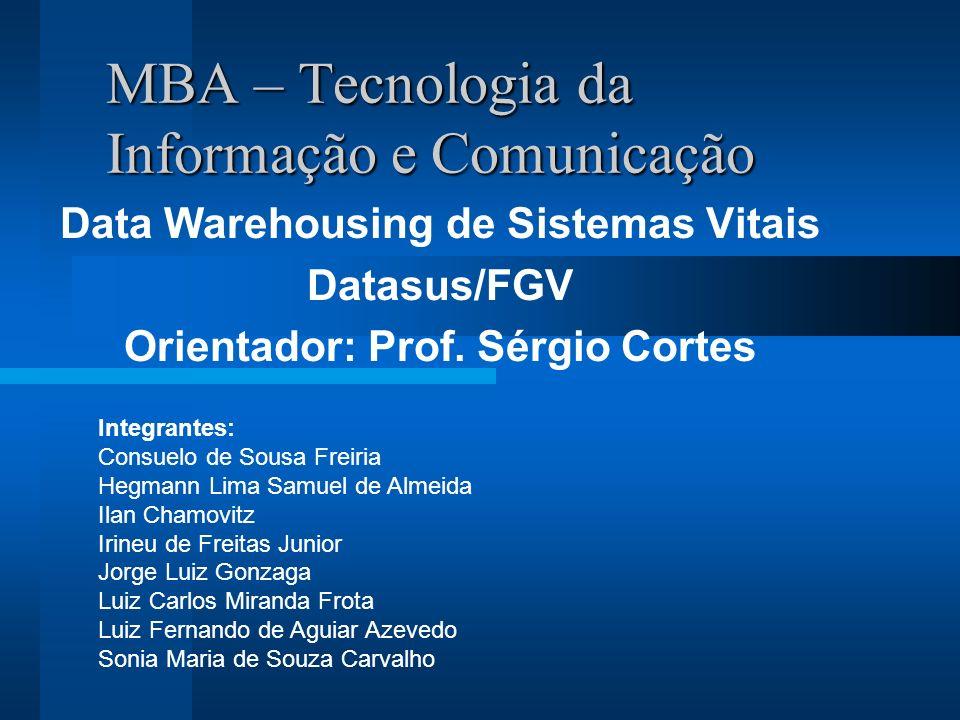 MBA – Tecnologia da Informação e Comunicação