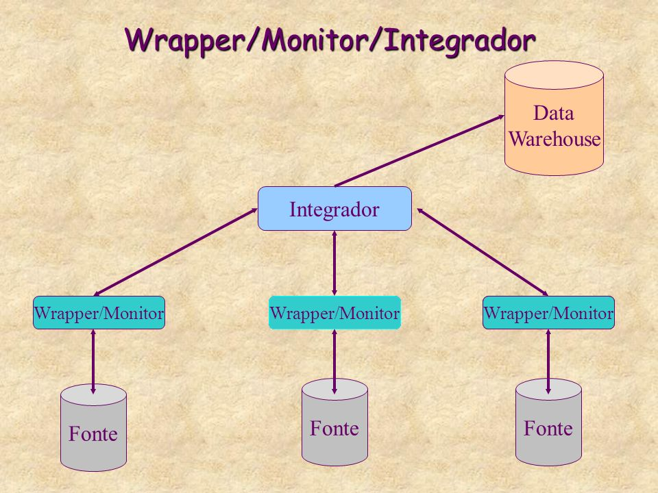 Wrapper/Monitor/Integrador