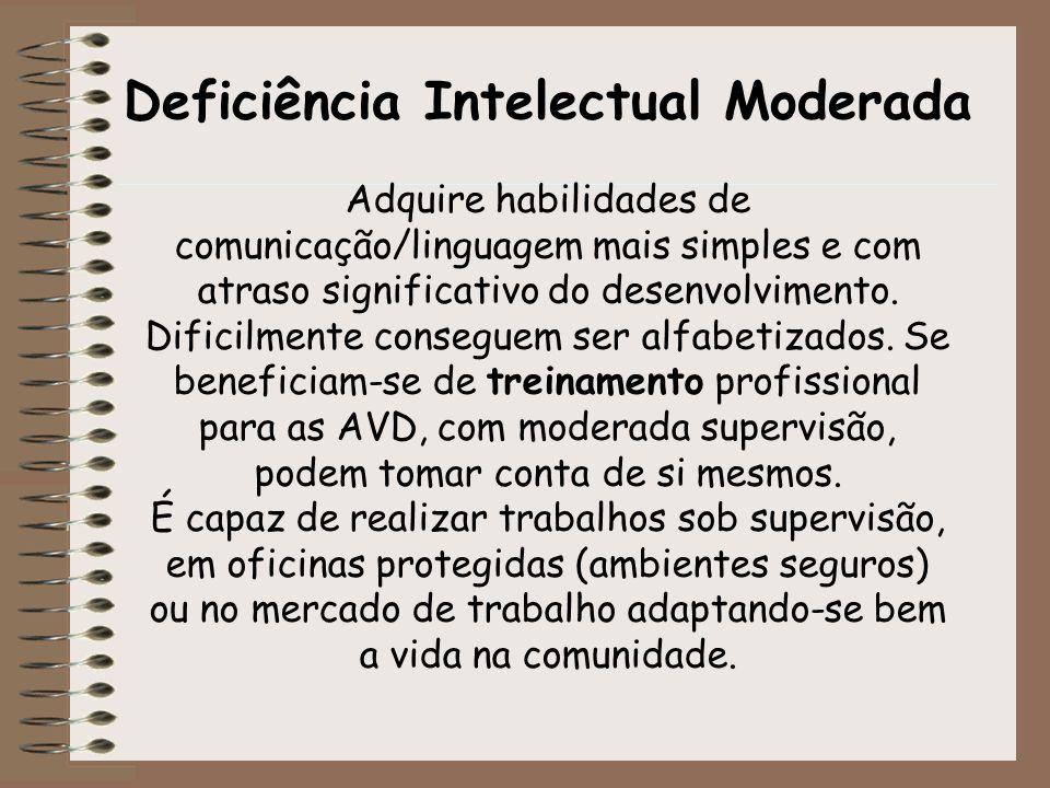 Deficiência Intelectual Moderada