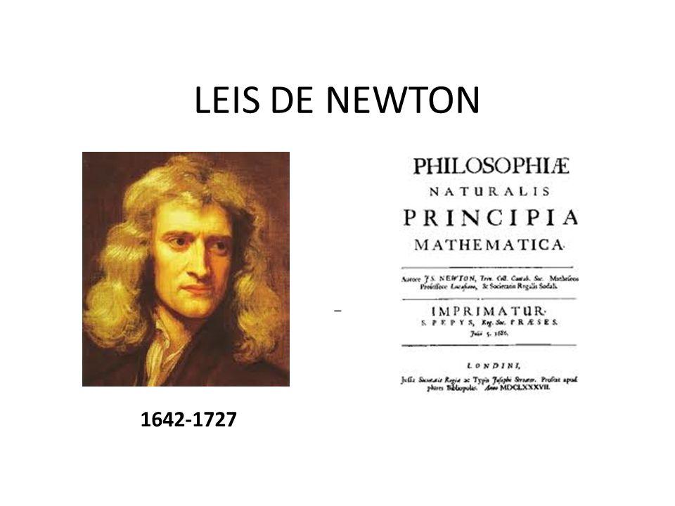LEIS DE NEWTON - 1642-1727