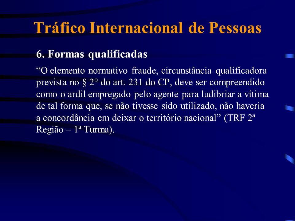 Tráfico Internacional de Pessoas