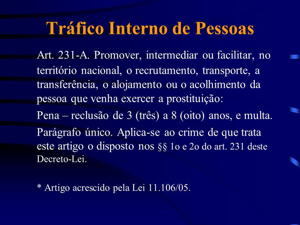 Tráfico Interno de Pessoas