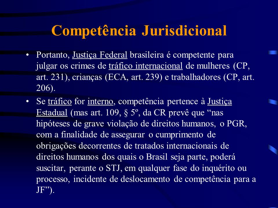 Competência Jurisdicional