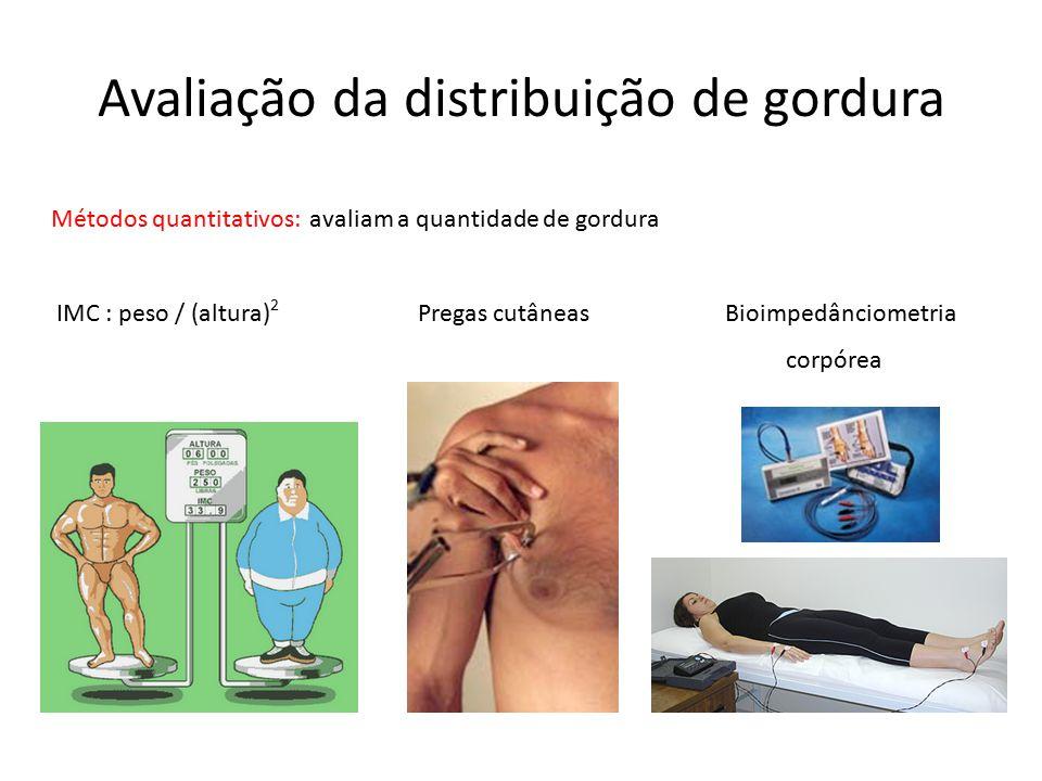 Avaliação da distribuição de gordura