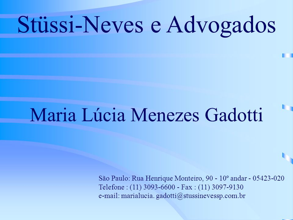 Stüssi-Neves e Advogados