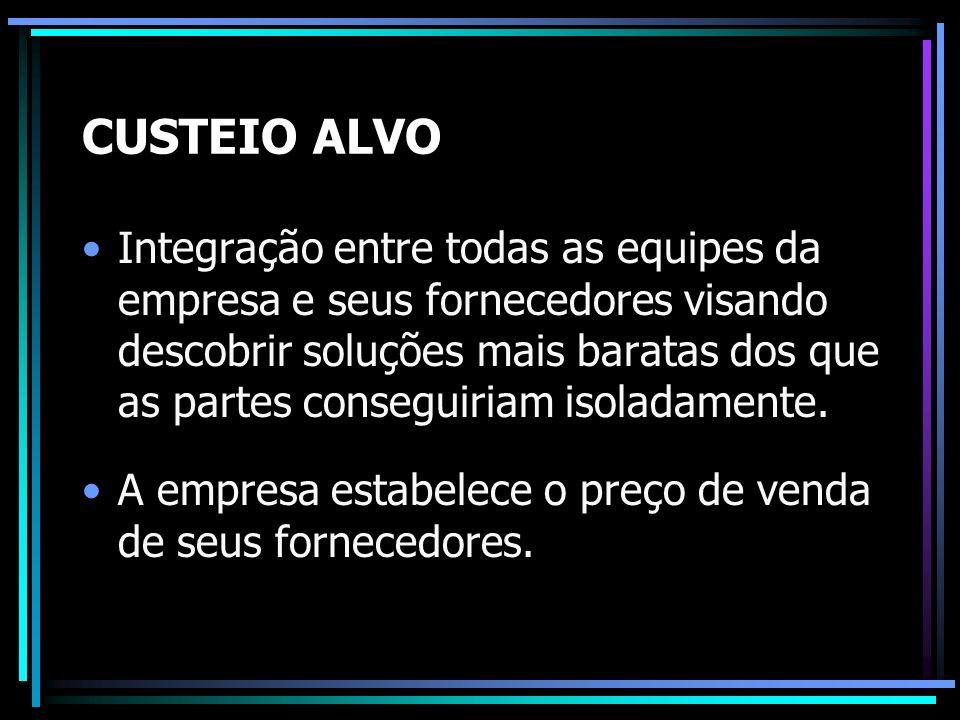CUSTEIO ALVO