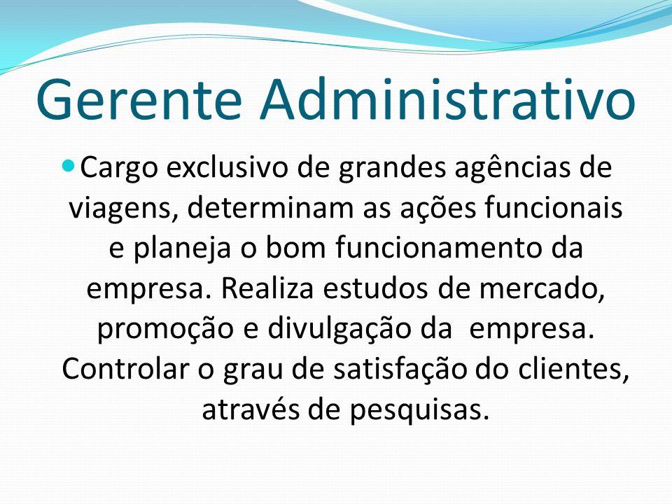 Gerente Administrativo