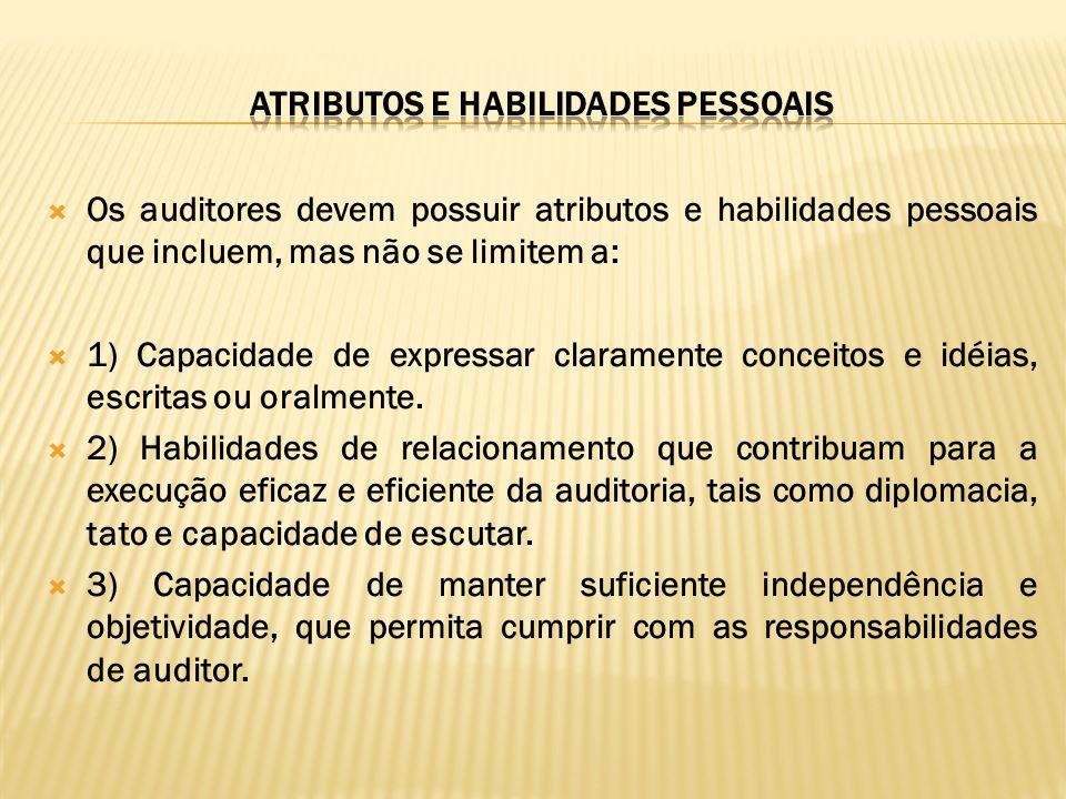 ATRIBUTOS E HABILIDADES PESSOAIS