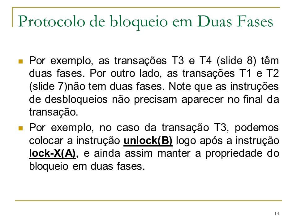 Protocolo de bloqueio em Duas Fases
