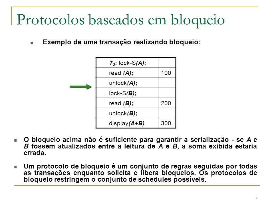 Protocolos baseados em bloqueio