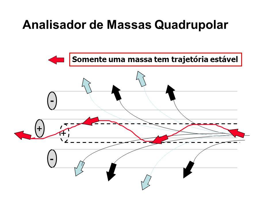 Analisador de Massas Quadrupolar