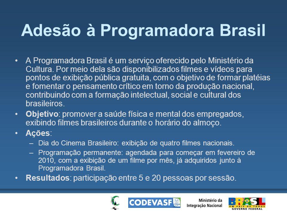 Adesão à Programadora Brasil