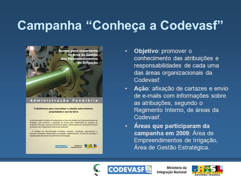 Campanha Conheça a Codevasf