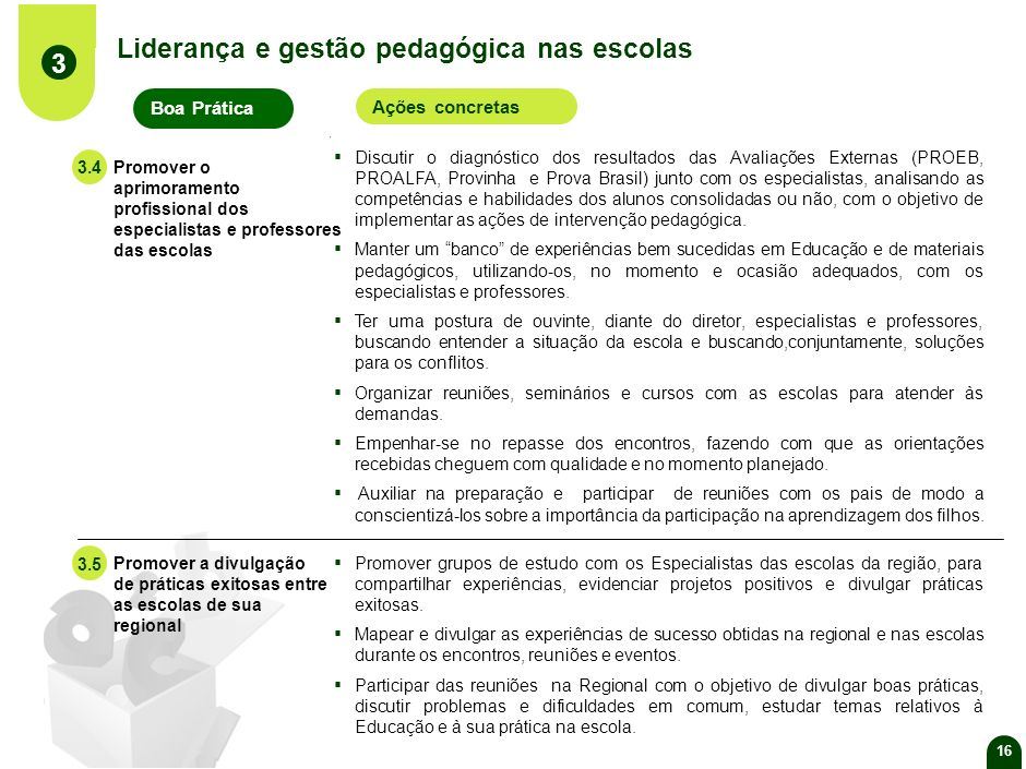 Liderança e gestão pedagógica nas escolas 3