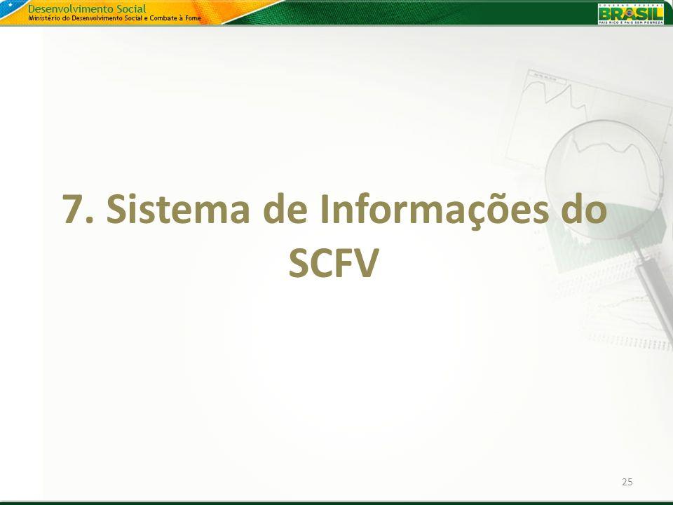 7. Sistema de Informações do SCFV