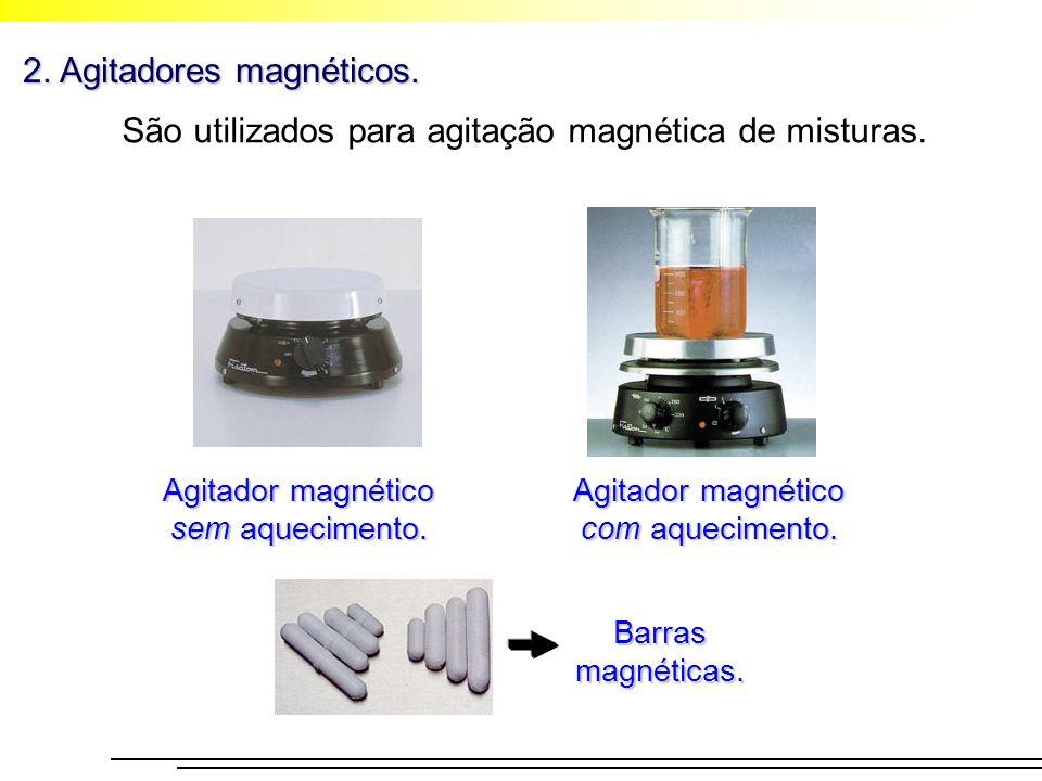 2. Agitadores magnéticos.