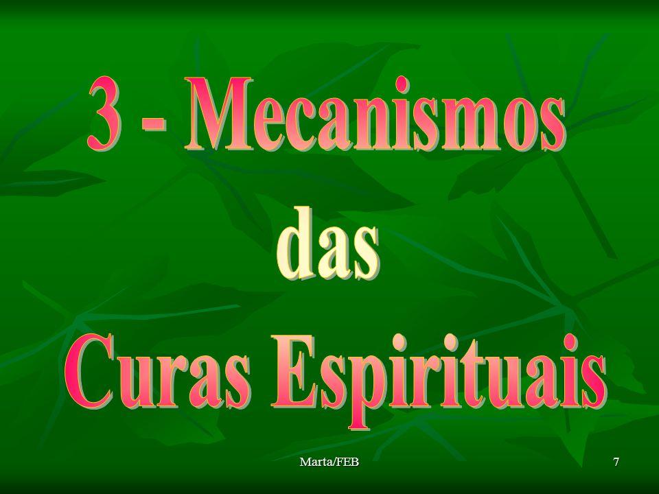3 - Mecanismos das Curas Espirituais