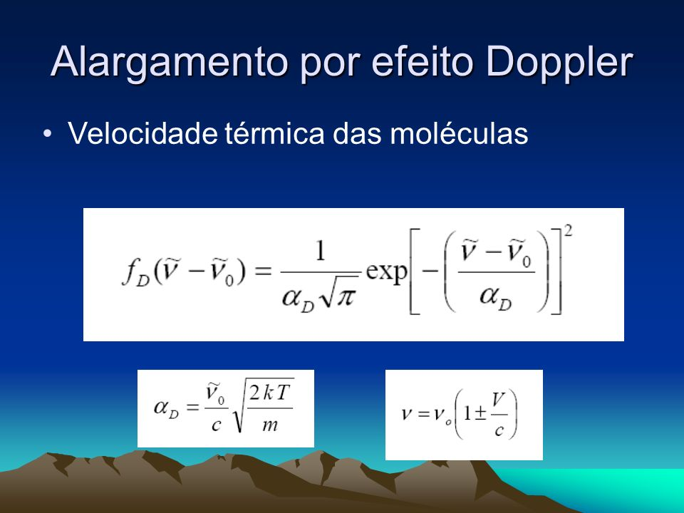 Alargamento por efeito Doppler