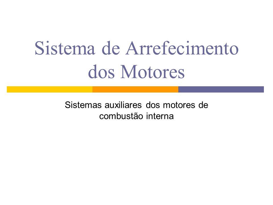 Sistema de Arrefecimento dos Motores