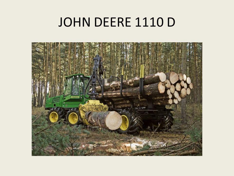 JOHN DEERE 1110 D