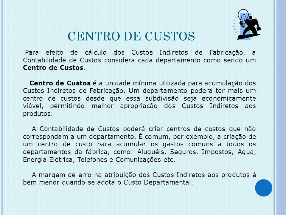 CENTRO DE CUSTOS
