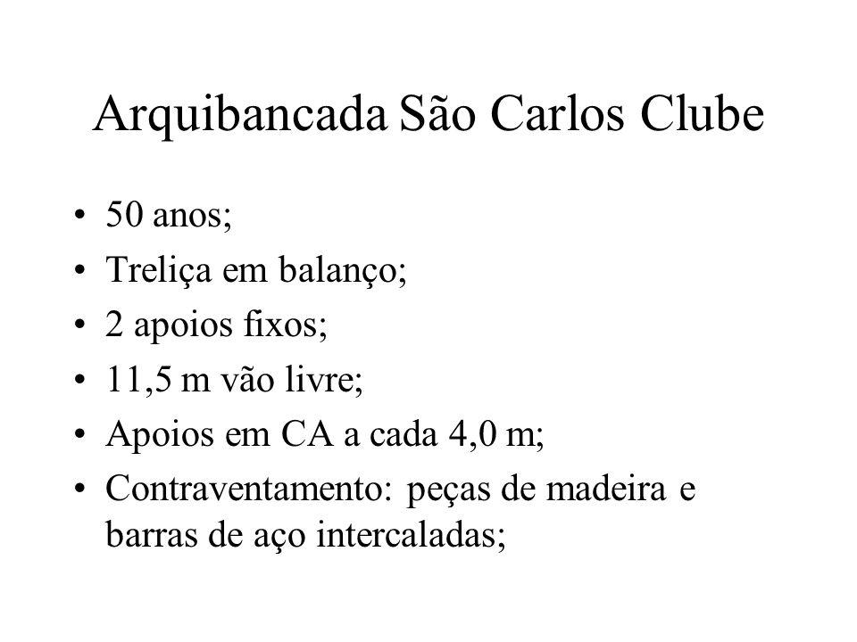 Arquibancada São Carlos Clube
