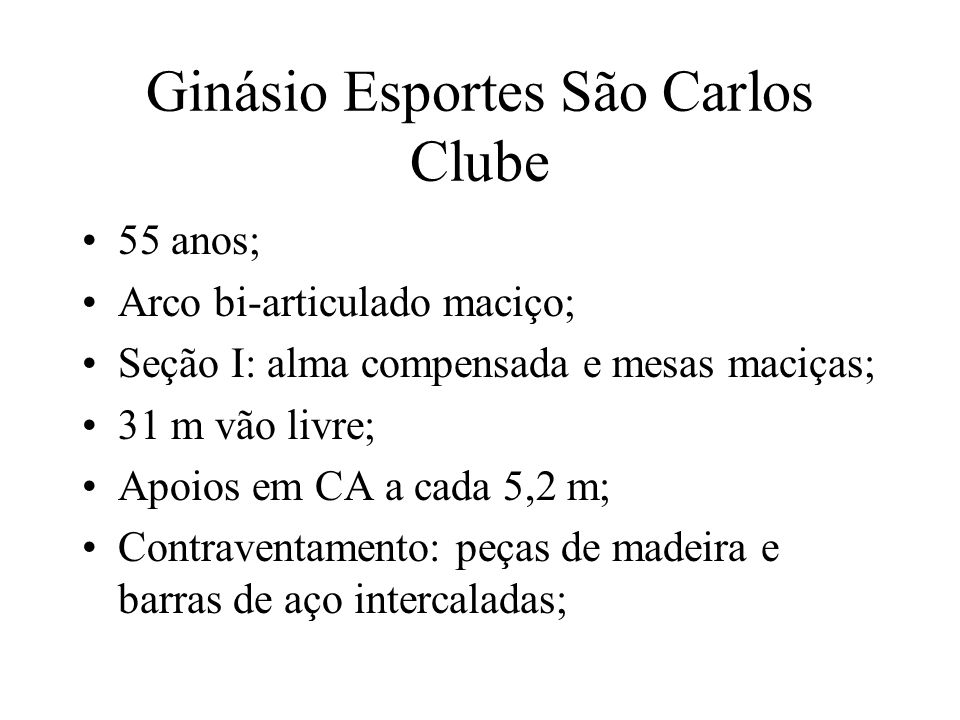 Ginásio Esportes São Carlos Clube