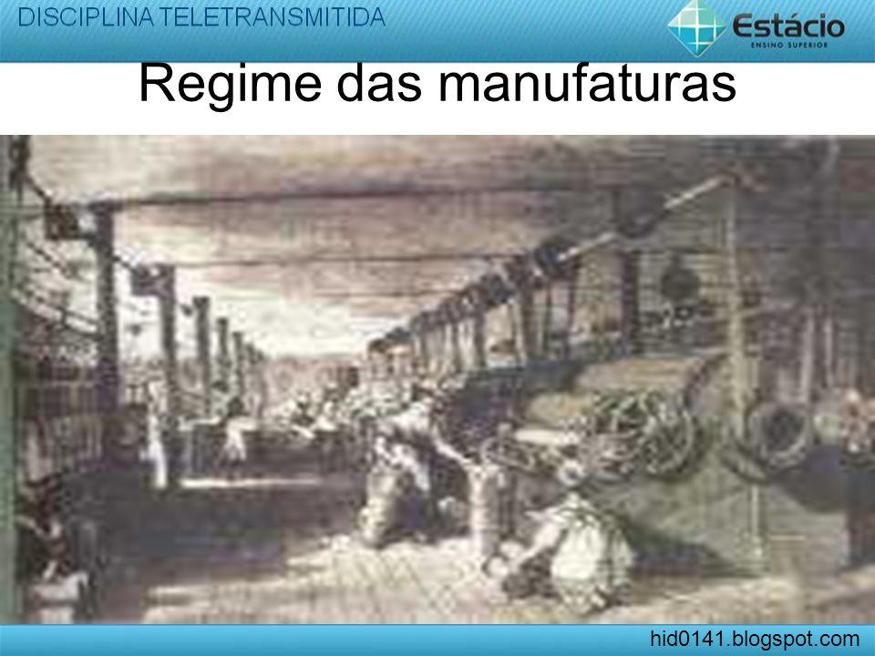 Regime das manufaturas