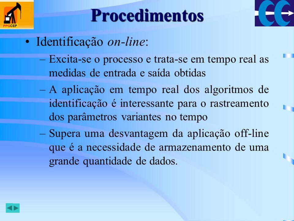 Procedimentos Identificação on-line: