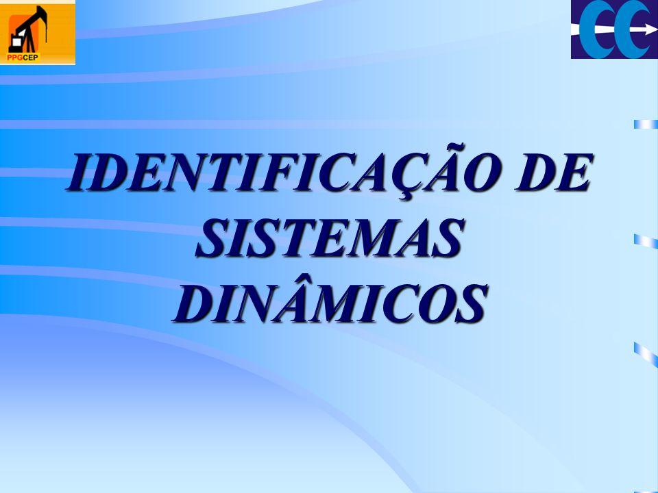IDENTIFICAÇÃO DE SISTEMAS DINÂMICOS