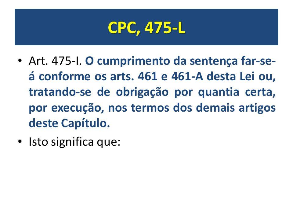 Artigo 475 o cpc