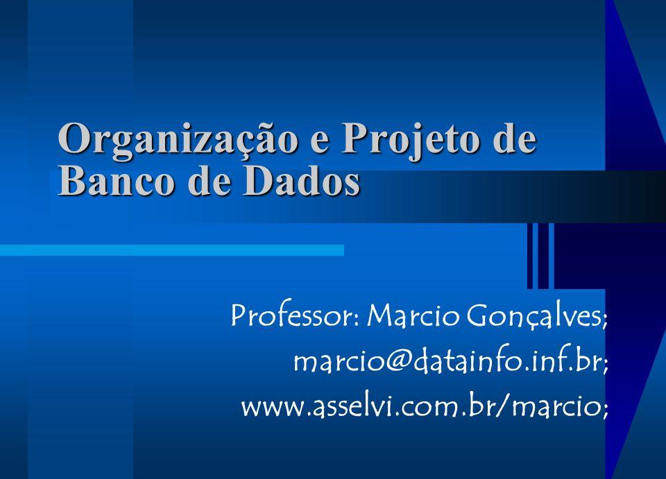 Organização e Projeto de