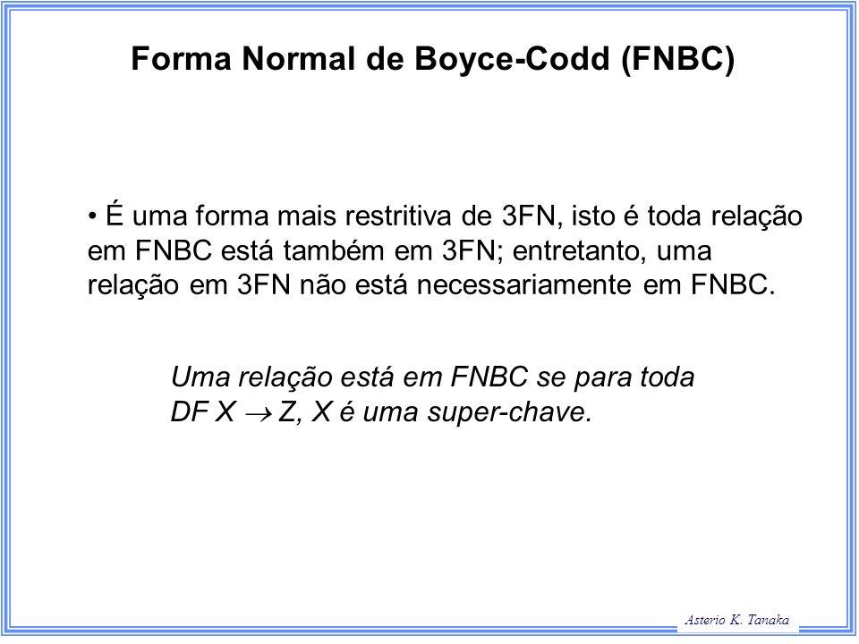 Forma Normal de Boyce-Codd (FNBC)