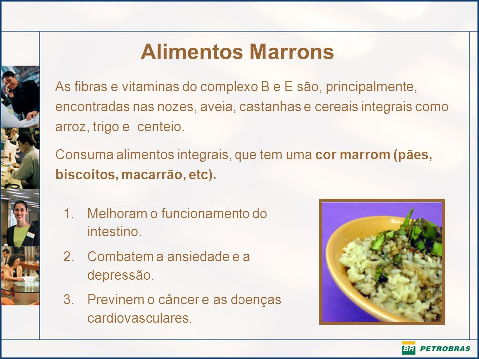 Alimentos Marrons