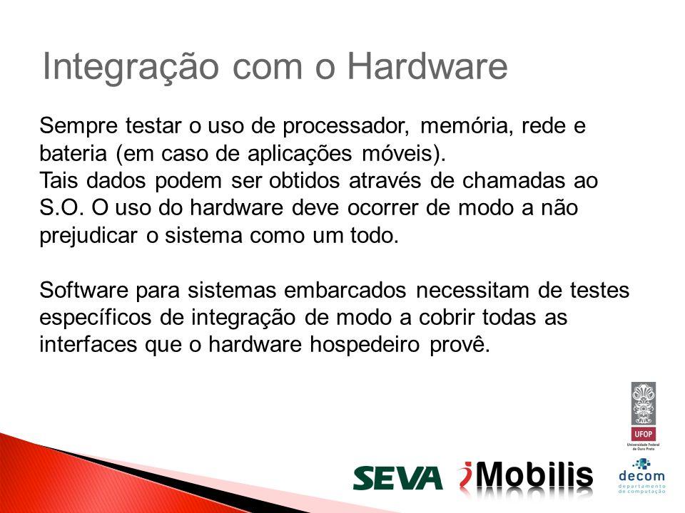 Integração com o Hardware
