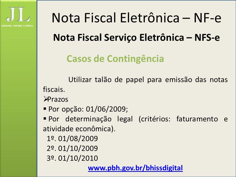 Nota Fiscal Serviço Eletrônica – NFS-e