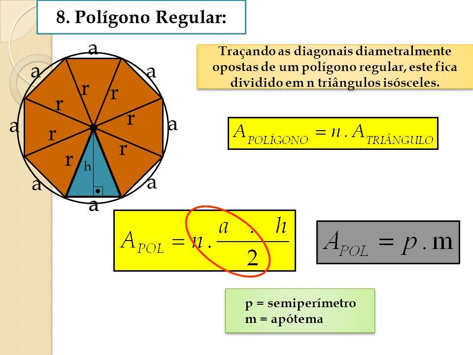 a r r r r r r r r a 8. Polígono Regular: