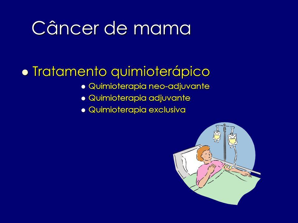 Câncer de mama Tratamento quimioterápico Quimioterapia neo-adjuvante