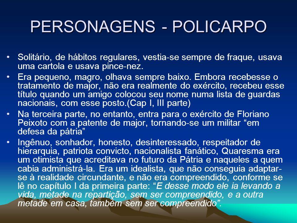 PERSONAGENS - POLICARPO