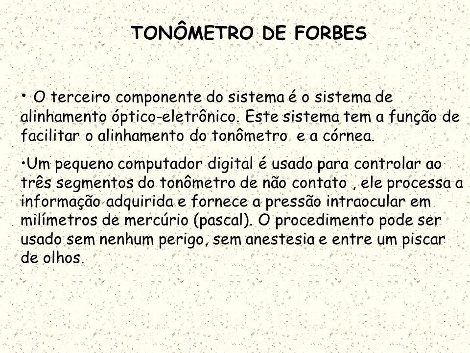TONÔMETRO DE FORBES