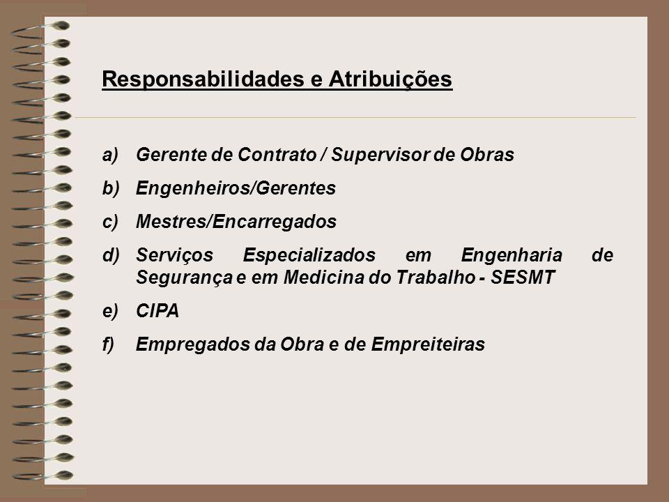 Responsabilidades e Atribuições