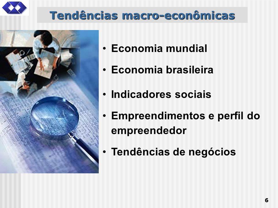 Tendências macro-econômicas