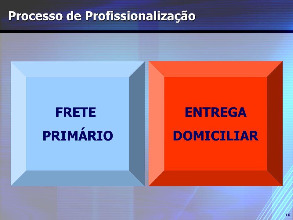 Processo de Profissionalização