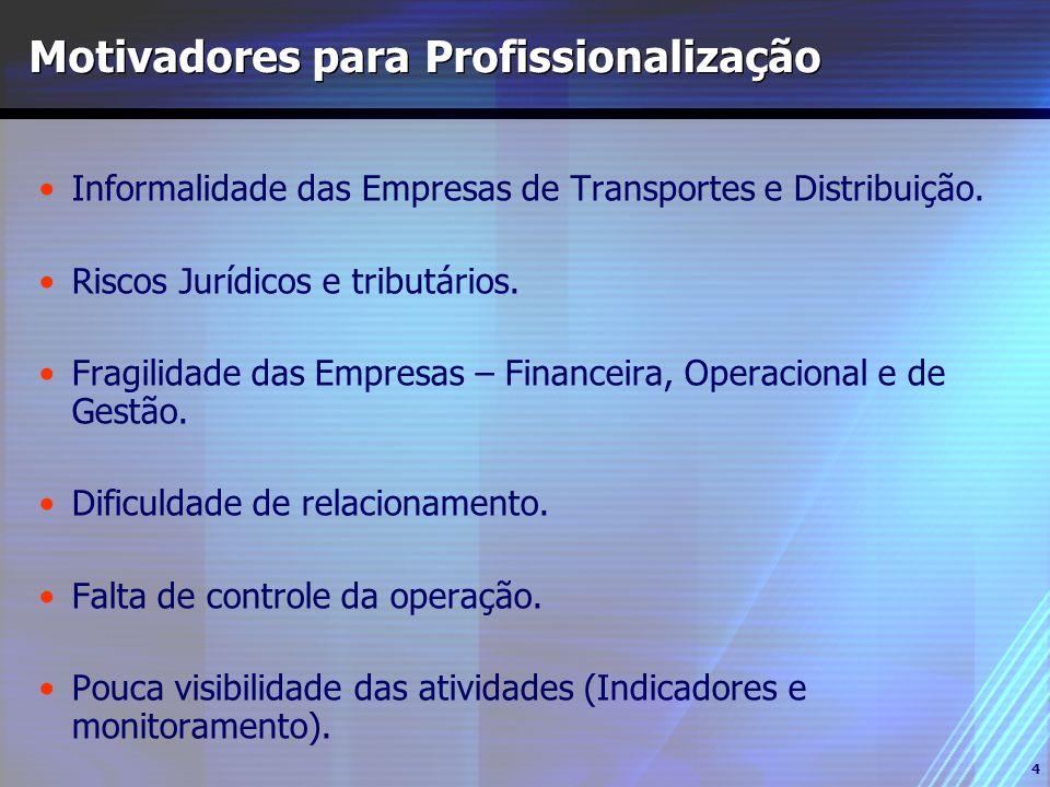 Motivadores para Profissionalização