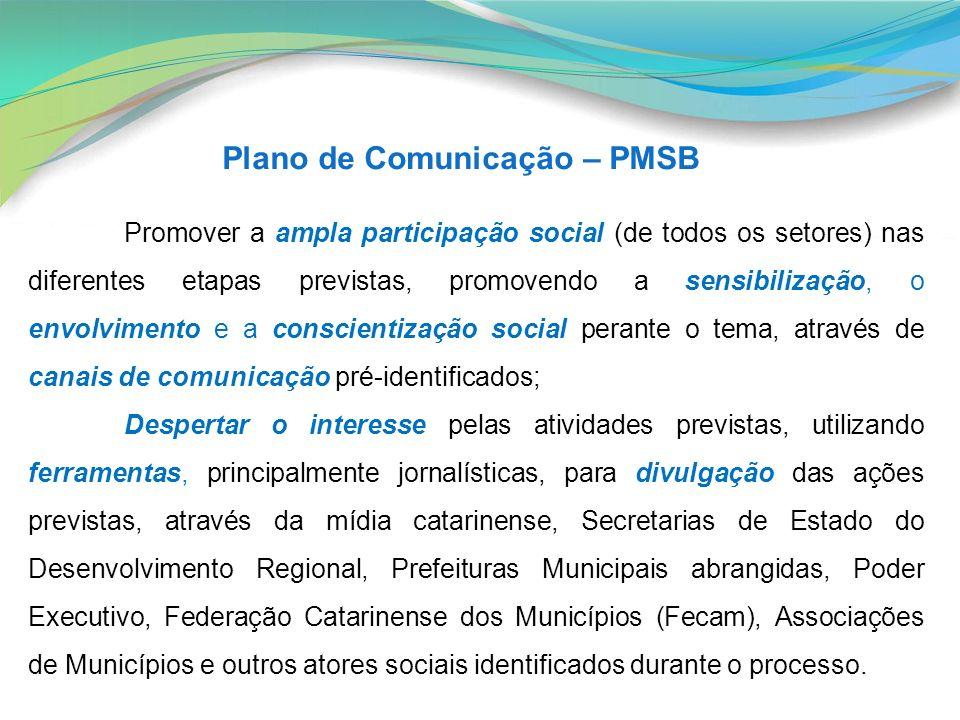 Plano de Comunicação – PMSB