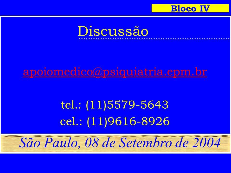 São Paulo, 08 de Setembro de 2004